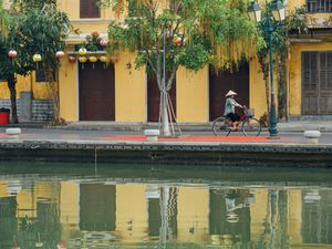 Quiet morning in Hoi An Old Town