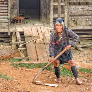 Laotian Grandmother