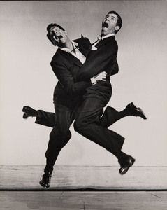 Dean Martin and Jerry Lewis, 1951. Archives Philippe Halsman © 2015, Philippe Halsman Archive / Magnum Photos