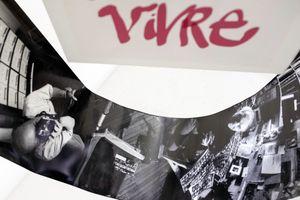 Photographing Robert Doisneau installation showing prints 1 & 3 closer