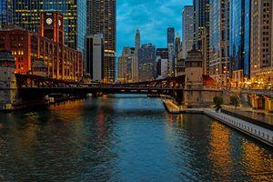 Chicago Blue Hour (IV)
