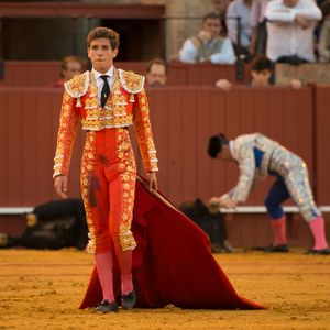 Torero after fight