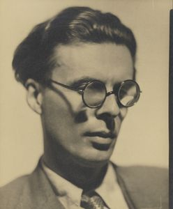 """Aldous Huxley by Howard Coster, 1934 © National Portrait Gallery, London. On view until 29 October in our display in Room 29, """"A Century of Photography, 1840-1940"""""""