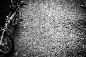 The pavement of Kagurazaka