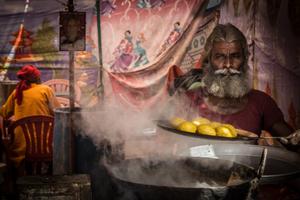 Cooking Kachori