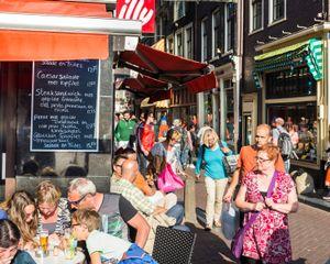 Amsterdam, Langebrugsteeg, 2014