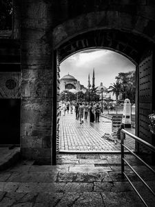 Turkey outside hagia sophia museum