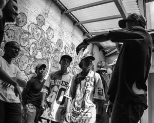 Rap battle in Comuna 13