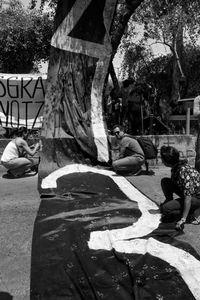 Diversas organizaciones pro-derechos humanos, estudiantes y universidades mostraron su apoyo ya los familiares.