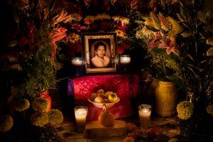 Altar for Día de Muertos