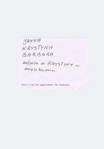 Letter from Janka