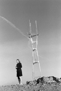 Woman with Tower