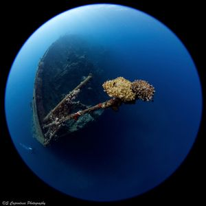The wreck of the Umbria, Sudan