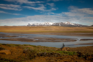 River s are the main problem when hiking Iceland- large, very hard to cross