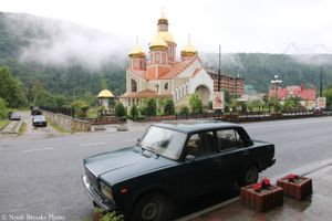 Church in Carpathians
