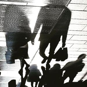 Shpping shadows in Corso Buenos Aires