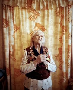 """Elizaveta Ivanonvna, Maladechna, was in the partisan force. From the series, """"I Reminisce and Cry for Life (Women veterans of II World War in Belarus)"""" © Agnieszka Rayss. Finalist, LensCulture Exposure Awards 2013."""