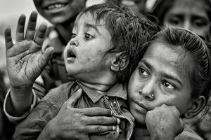 Shivananda Basti, Urban slum, West Delhi_7