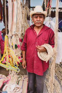 Rope Maker-Tlacolula Market-Oaxaca Mexico