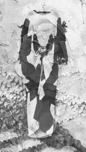 Robe Noir+blanc