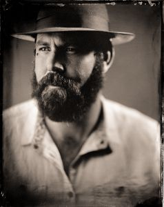 L - as a tintype