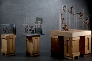 Exhibition of three Tesseracts