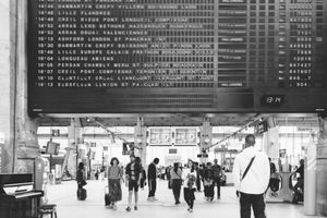 Departures, Paris Gare du Nord