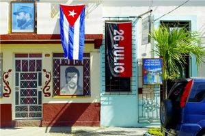 Two Sides of Che Guevara - Bayamo, Cuba 2016