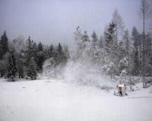 Snow Machine, 2009  © Dede Johnston