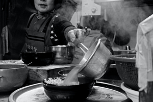 kongnamul gugbab(Bean sprouts soup)1