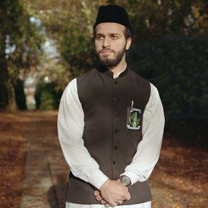 Mustafa Siddiqui, Young training Imam, England, UK.