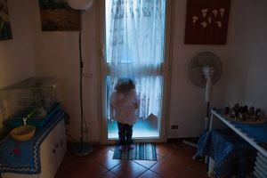 The little niece left in Romania offers a sweet vision. © Fabio Moscatelli