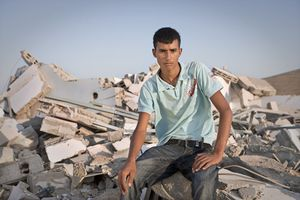 "Sliman (Shkip, Bedouin)  From the series ""Eighteen"" © Natan Dvir"