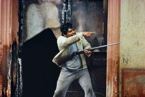 NICARAGUA. Masaya. June 8, 1979. Popular forces begin final offensive.