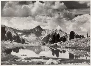 """From """"Sierra Nevada: The John Muir Trail."""" © Ansel Adams. Published by Archetype Press and most recently reprinted by Little, Brown and Company."""