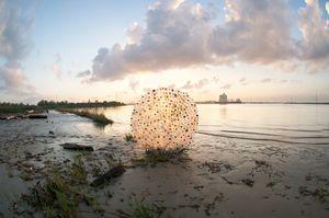 Plastic Bottle Debris Circle © Jeremy Underwood