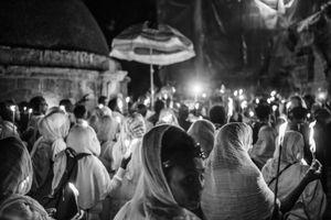 The Ethiopian Orthodox Tewahedo Church of Jerusalem.