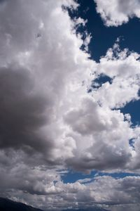 Dramatic Clouds along the Sangre de Christo Mountains CO