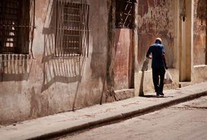 Walking through Havana, Cuba