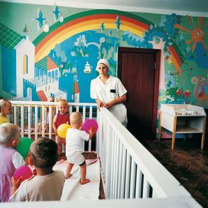 Vika, Sentenced for Murder, Prison for Women with Children, Ukraine 2010