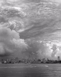 """Untitled, New York, 2014. From the series """"Clouds."""" Showing at Thomas Zander. Courtesy of PhotoLondon."""