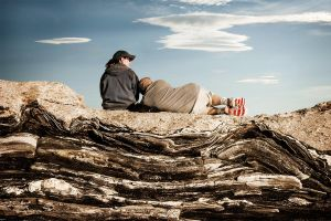 Resting Along the Way   © Seán Duggan
