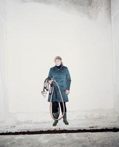 Elena, the best milkmaid of the Slutsk region. Personal best: 1160 liters of milk per month. Staryca Agro, Belarus.