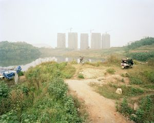 Construction Site, Jingkai District, Chongqing 2005. © Ferit Kuyas.