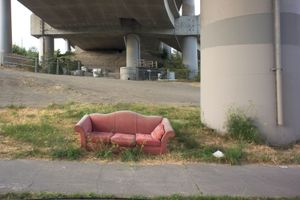 Abandoned Sofa #1