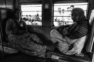 IMPRESSIONS AT THE OLD DELHI RAILWAY STATION 48
