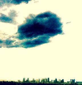 Blue Cloud above La Défense