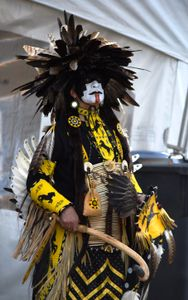 Mohawk dancer.