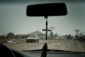 Drive through Gorelovka.