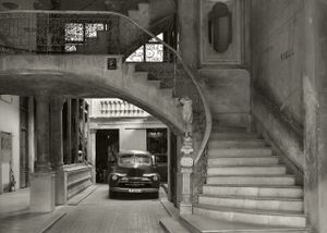 Interior of a Havanese palace